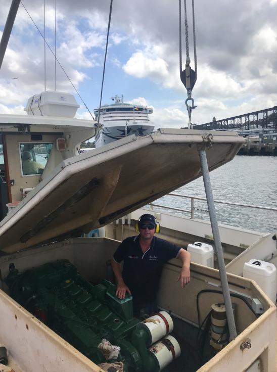 Steber Crystal Fishing Boat