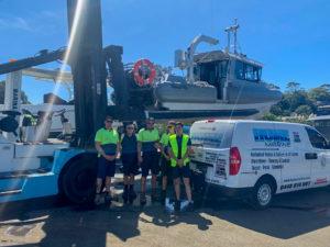 Hume Marine and White Bay 6 Team